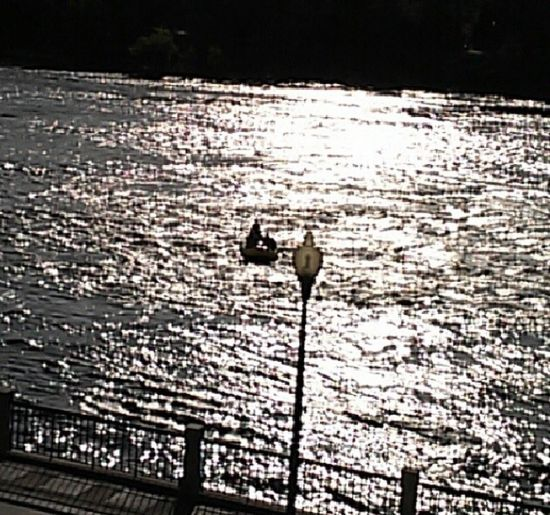Taking Photos Enjoying Life Outdoors Rippled Water Reflections Sunset Reflection Chattahoochee River Water Riverwalk Street Light EyeEm Best Shots
