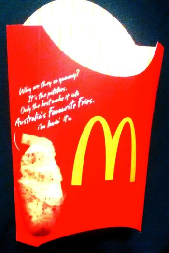 I'm Lovin' It Mc Donald's Macca's The Golden Arches Fries Mickeydeez McDonald's Australia's Favourite Fries Golden Arches At Mc Donald's Maccas Mcdonalds Fries Fries Fries
