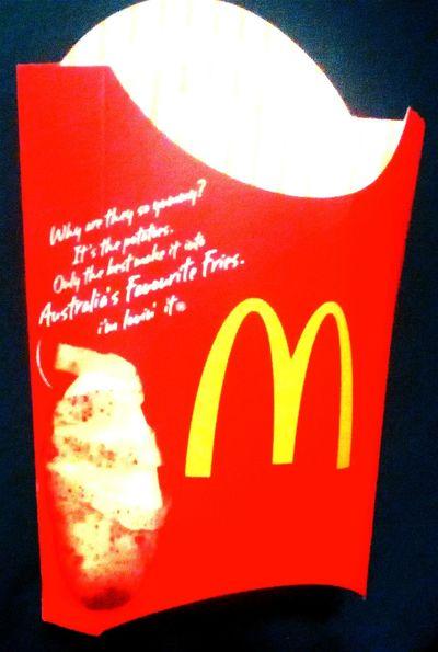 I'm Lovin' It Mc Donald's Macca's The Golden Arches Fries Mickeydeez McDonald's Australia's Favourite Fries Golden Arches At Mc Donald's Maccas Mcdonalds Fries Fries Fries