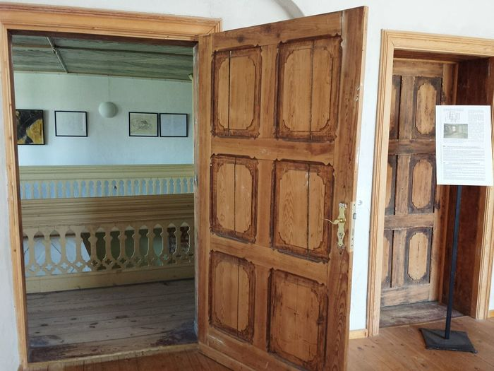 Schloß Stolpe Usedom, Germany Architecture Antique History Old-fashioned Wood - Material Wood Construction Inside Castle Eyeemphoto Taking Photos Wooden Door