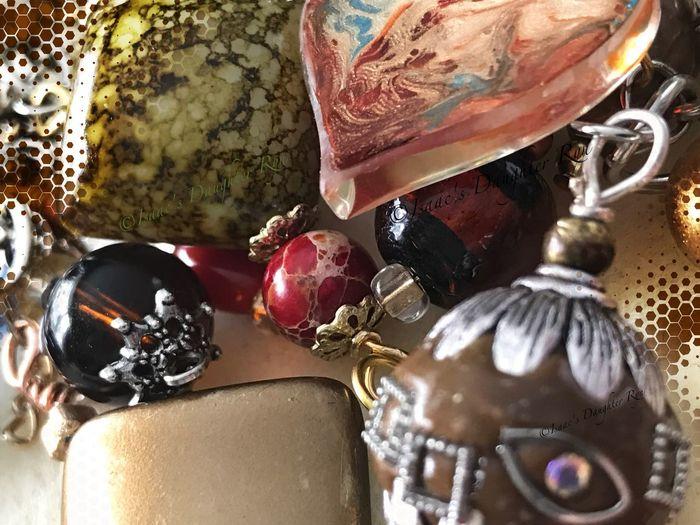 Beads. Close-up