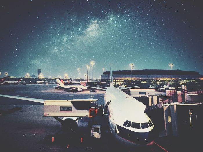 To infinity, and beyond. Airport Airplane At The Airport Japan HongKong Traveling