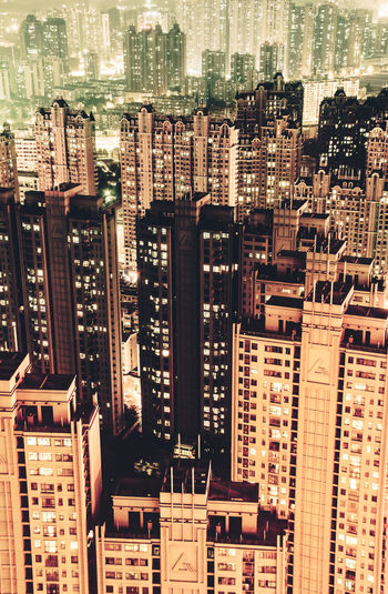 City of human. Architecture Building Exterior Built Structure China City City Life Cityscape Hefei Illuminated Lights Modern Nightscape Residence Skyscraper Tall Tall - High Urban Urban Skyline Embrace Urban Life