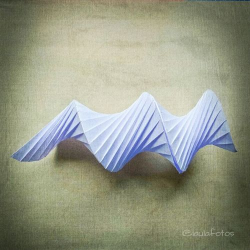 Origami Spiral Papercraft Paper Art Geometric Shapes Picoftheday Paperartist Photography Photo Art folded by me