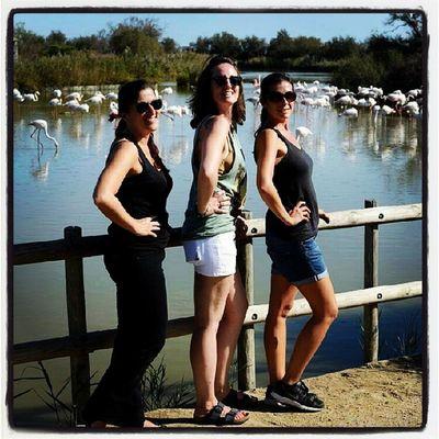 Les 3 drôles de dames du week-end ! Avec @delphine_mazzarelli @pieuvrette