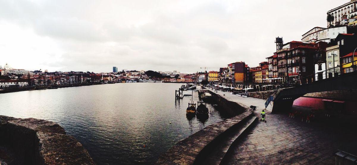 Porto, by the river.