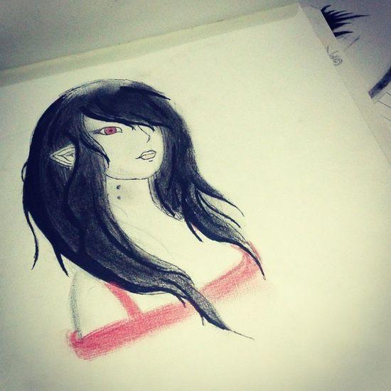 Marceline Adventuretime Drawing Art