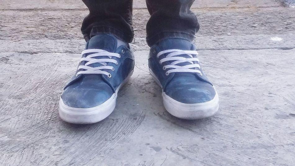 Sneakers Enjoying Life