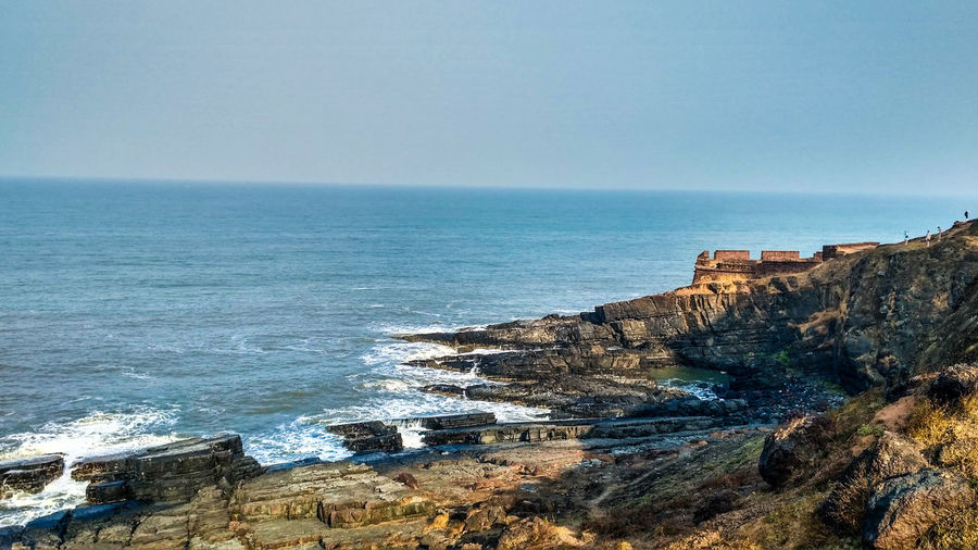 This amazing view(Aguada fort,Goa,India). Beauty In Nature Travel Destinations LandscapeNo People Water Sea Horizon Over Water Scenics Rocks Travelphoto Travelphotography Landscape LandscapePhotographyGod Naturephotography Naturelover Naturelovers Landscape_photography The Great Outdoors - 2017 EyeEm Awards Neighborhood Map