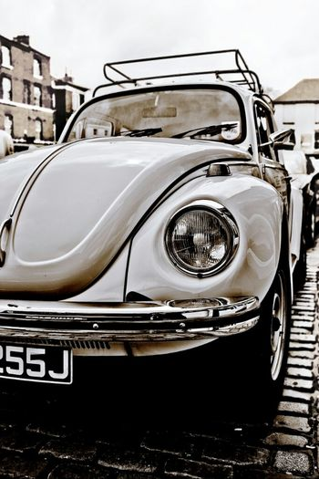 Love Bug Vintage Black And White Car Photography Classic Car VW Volkswagen Beetle Bw_collection Still Life