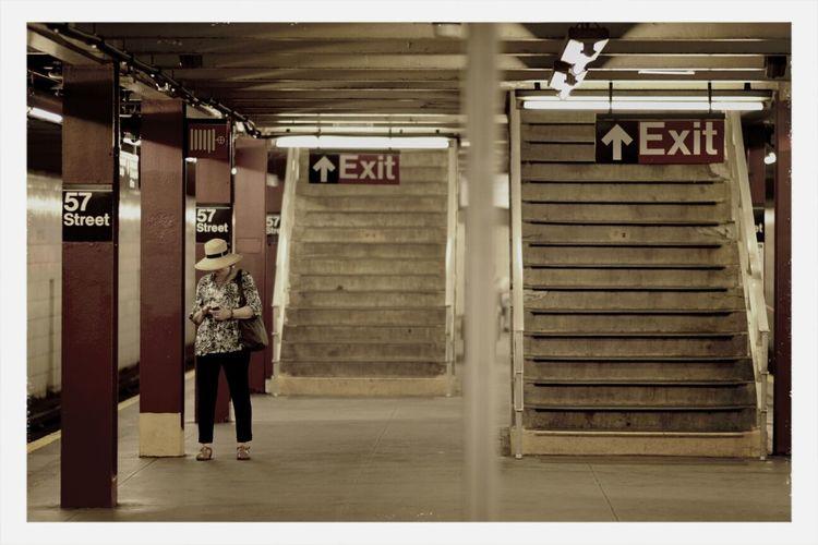 what if New York City had a Gotham City feel. Subway Portraits NYC Photography Art