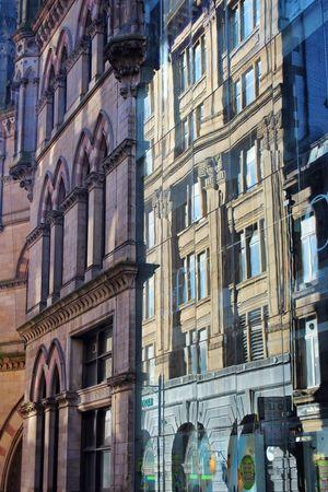 Bradford Architecture Buildings Glass Reflection Glass Reflections Reflection Yorkshire