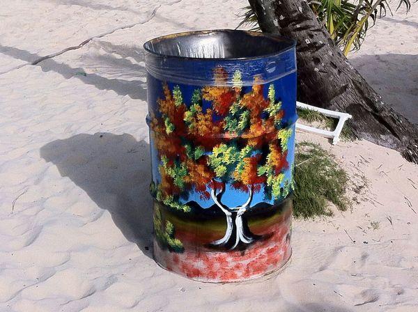 graphisme dominicain Being A Beach Bum