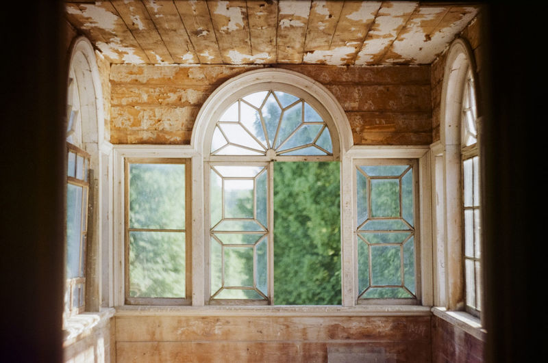 Window of an old manor