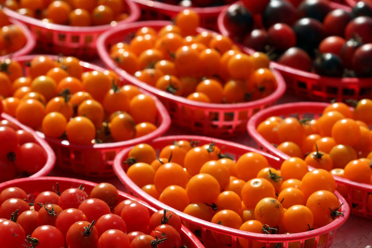 Close-up of tomatoes for sale