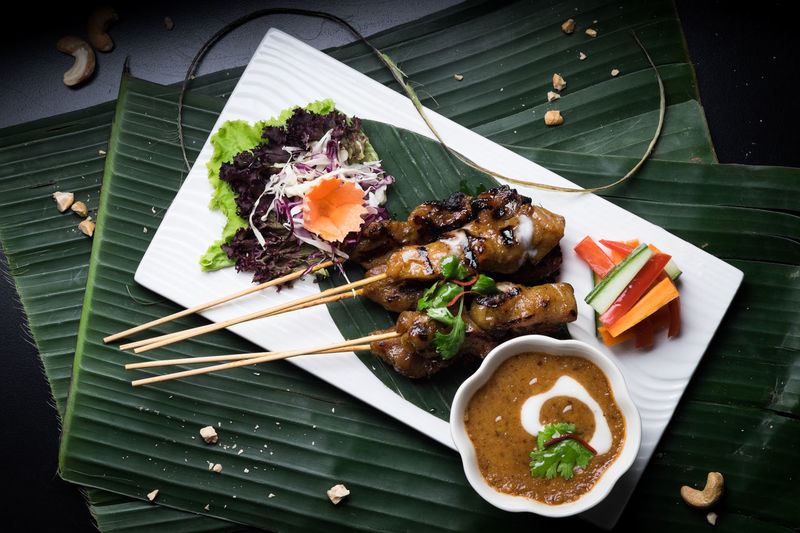 Thai Cuisine Asian Cuisine Food Styling Thai Menu Thai Cuisine Artistic Food Authentic Thai Food Close-up Food Food And Drink Freshness Healthy Eating Indoors  No People Ready-to-eat Thai Food