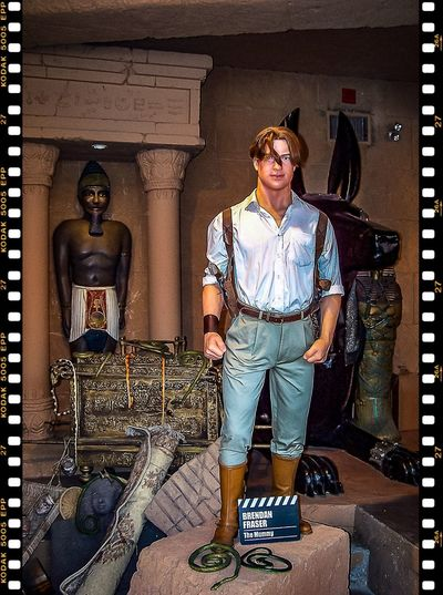 Amusement Park Arts And Entertainment Louis Tussaud's Waxworks Movie Stars Movie Time Museum Tourist Attraction  Wax Figure Wax Museum