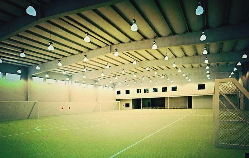 Soccerfield 3drendering Willworkforfood Client Meeting Regina Bremen Architectural Rendering Indoor Pitch