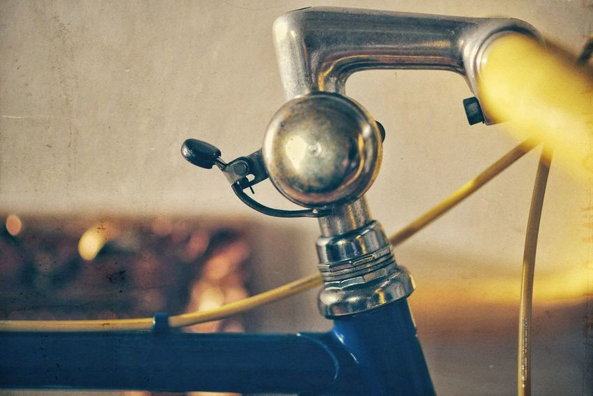 cycle bell Vintage #bicycle #retro Cycle Bell Metal Close-up