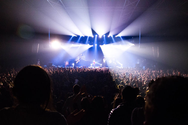 Concert Crowd Event Illuminated Indoors  Music Music Festival Nightlife Parov Stelar Person Popular Music Concert Stage - Performance Space Stage Light
