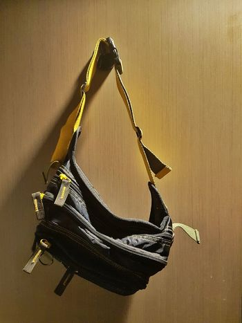 Pouch Bag Pouches Hanging Hung Hanged Door Hooked Still Life Objects Zippers Belt  Waistbag
