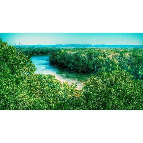 Missouri river at Atchison Kansas...... Ks_pride Missouririver Wow_america_landscape Nature River Naturelovers