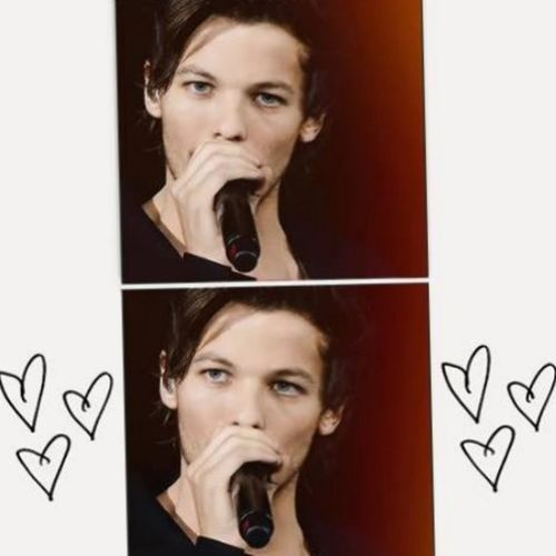 Louis Tomlinson Onedirection Cute Beautiful