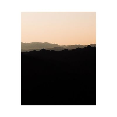 Nature Mountain No People Outdoors Contemporary Art Fine Art Photography Photography Minimalism Simplicity Sky Beauty In Nature Pastel Power Colors Landscape_Collection Landscape