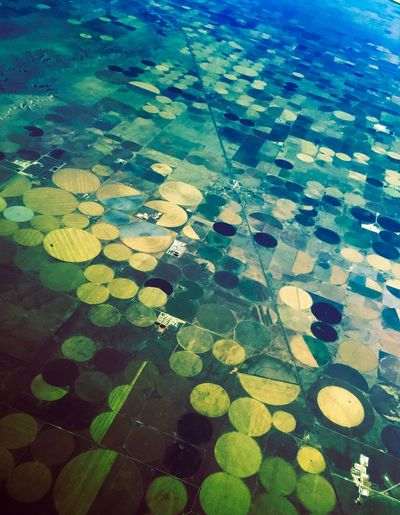 Beautifully Organized Airplaneview No People Pattern Outdoors Beauty In Nature Day Nature FlyOverState Agriculture Arial Shot Northern Texas