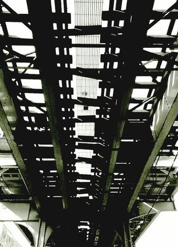 Blackandwhite Photography Black&white Blackandwhite Chicago El Train Tracks