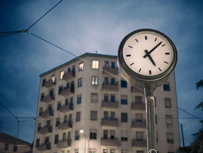 Time in Masolino Architecture Building Exterior Built Structure Cables Clock Clock Face Clock Tower Hand Hour Hour Hand Minute Hand Minutes Night No People Orologio Outdoors Place Seconds Sky Square Time Time Machine Time Square Tram Cable Watch