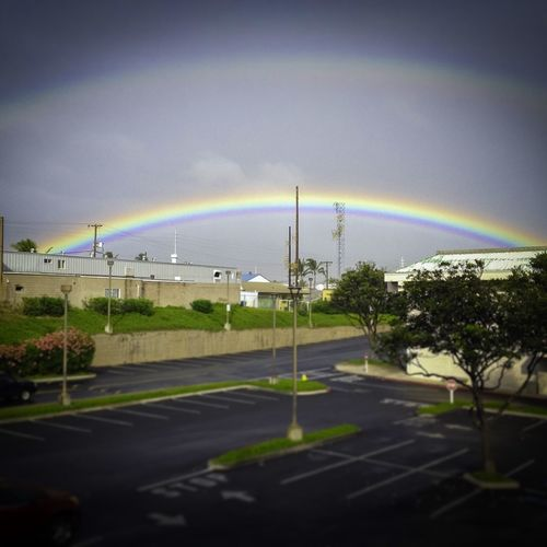 Where I live there are rainbows...