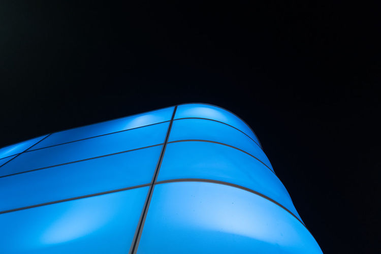 The Graphic City Architecture Black Background Blue Built Structure Clear Sky Close-up Copy Space Low Angle View Night No People Outdoors HUAWEI Photo Award: After Dark