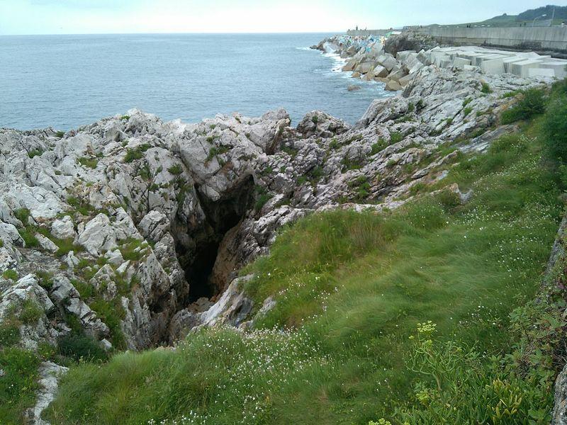 Mar Asturias Llanes Sea Rompeolas