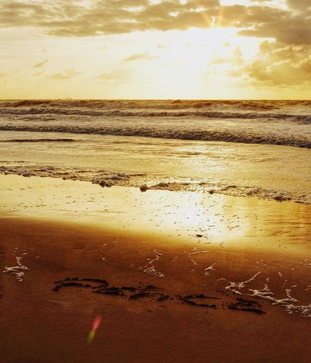 PEACE ☮️ Sea Beach Water Nature Sky Beauty In Nature No People Sunset Horizon Over Water Scenics Outdoors Sand Day Peace Peace And Quiet Peaceful Peaceful View Peaceful Place EyeEm Best Shots Photooftheday Eye4photography  Beautiful Picoftheday EyeEmBestPics Beauty In Nature