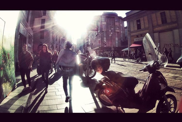 Outdoors Day City Lifestyles Silhouette Street Streetphotography Street Silhouette Street Photo ITALY MILANO Motorbike Motorbike Silhouette Motorbike In Milan Street People Sunlight Streets Of Milan Your Ticket To Europe Be. Ready. EyeEm Ready   An Eye For Travel Mobility In Mega Cities Press For Progress Stories From The City Visual Creativity The Street Photographer - 2018 EyeEm Awards