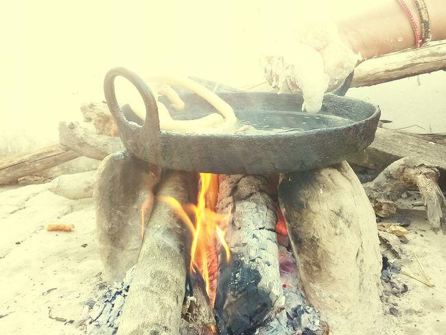MAKING [Sail Roti]♧ Nepali Food Nepalese Culture Mobile Conversations