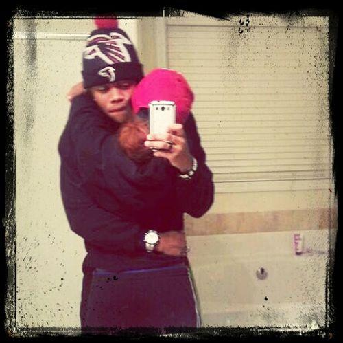 Aint no fakinn baby boy got my heart ♥ Missing you already♥