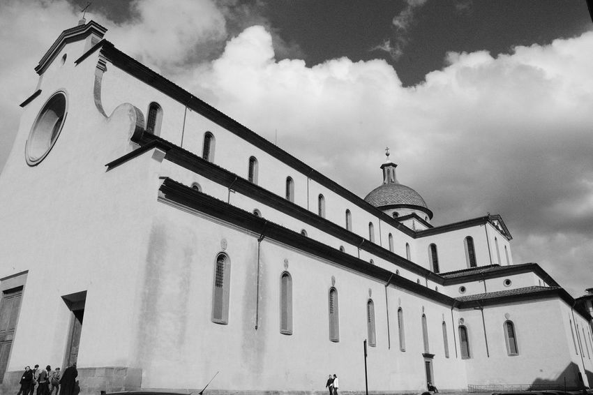 Basilica di S. Spirito - Firenze b&w Nikon Architecture Ti Racconto Firenze Firenzemadeintuscany Firenze Firenze With Love The White Collection Monochrome Black And White Black And White Collection  Basilica Basili Firenzefoto Firenzetoday Firenzeview Traveling Home For The Holidays Firenze, Italy Firenze The Architect - 2017 EyeEm Awards The Street Photographer - 2017 EyeEm Awards The Graphic City