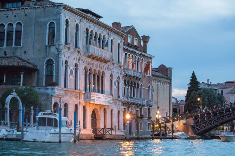 A Day in Venice Architecture Building Exterior Canal Grande History Tourism Travel Destinations Travel Photography Twilight Sky Water