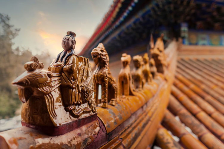 Summer palace scenery, landmark of beijing