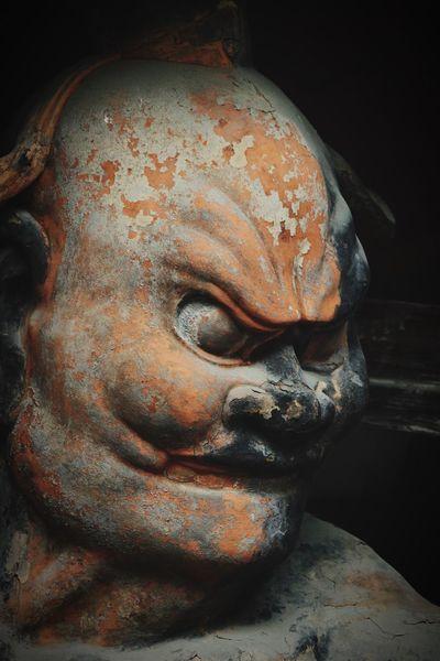 法隆寺 (Horyuji Temple) 金剛力士像 吽形 World Heritage Japan Photography Nara Japan Temple History