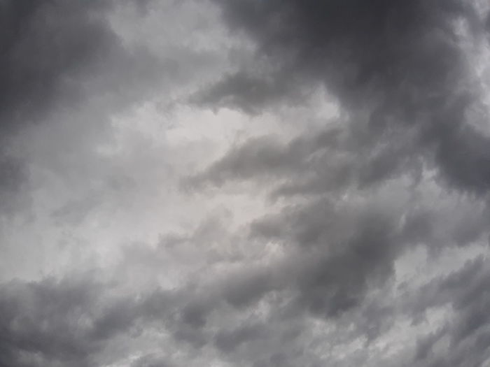 The sky before