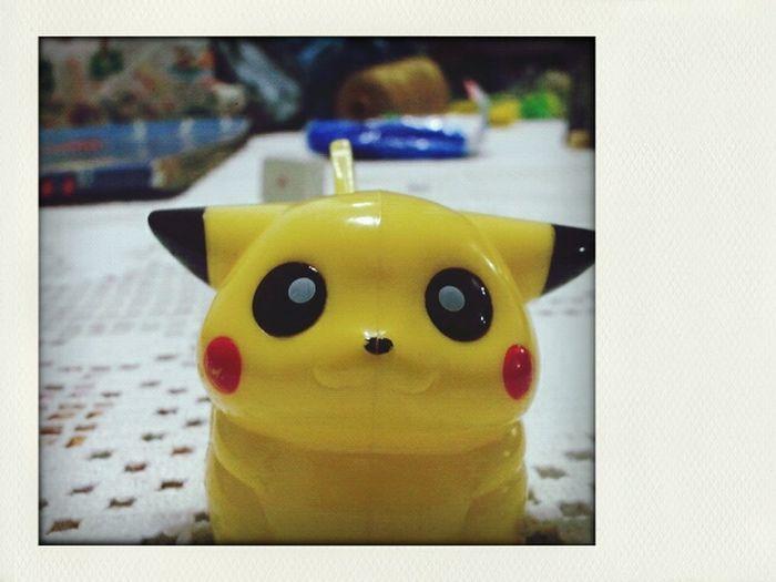 """Hey there, I'm Pikachu"" Pokémon Pikachu"