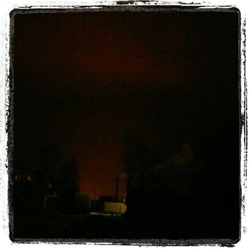 Увидеть_миллион_роз Едем Зарево прожекторов, теплицы роз, Рузаевского района