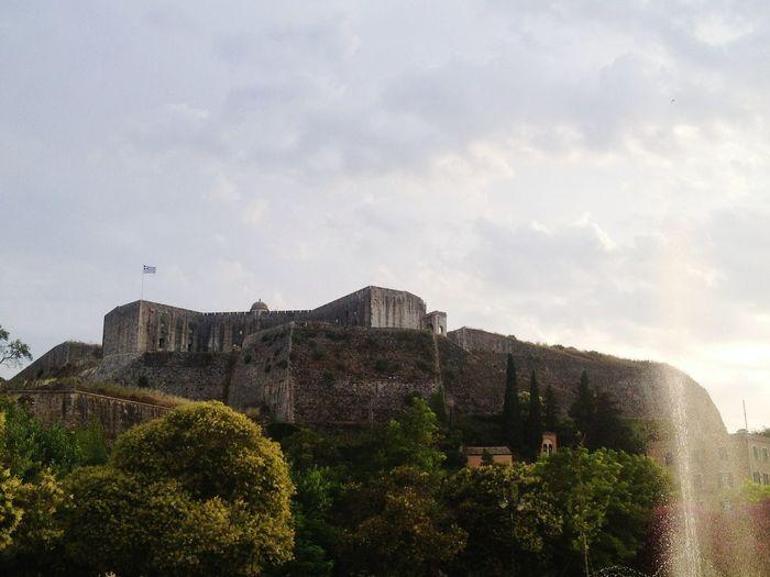 No People City Castle Architecture Greece гувия Греция остров Керкира Kerkira Corfu CORFU ISLAND Gouveia Gouvia