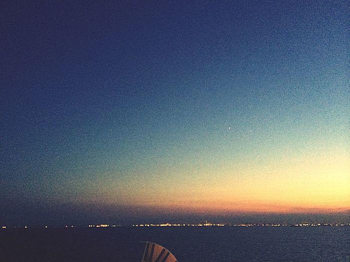 Sky_collection 出張帰り Enjoying Life Tokyo 木更津 海ほたる