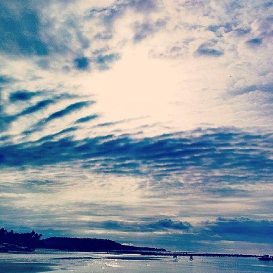 Seaside Sea Laiya Itsmorefuninthephilippines TravelPhilippines travel batangas discoverphilippines sky sea