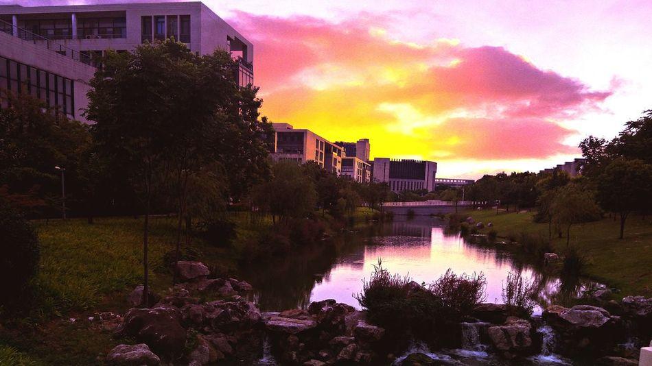 Sky Sunset Day