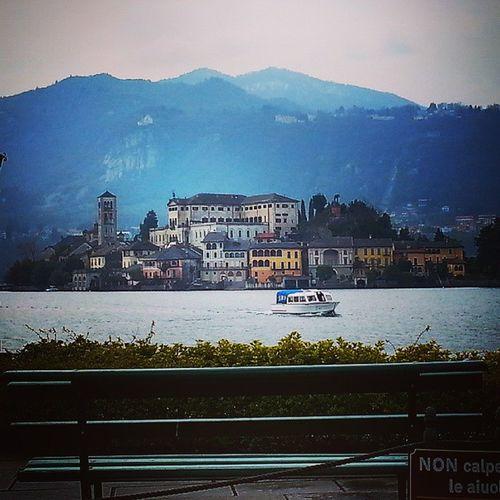 un sereno weekend Isola di San GIULIO Isoladisangiulio Lago d' Orta  Verbanocusioossola Lake Landscape